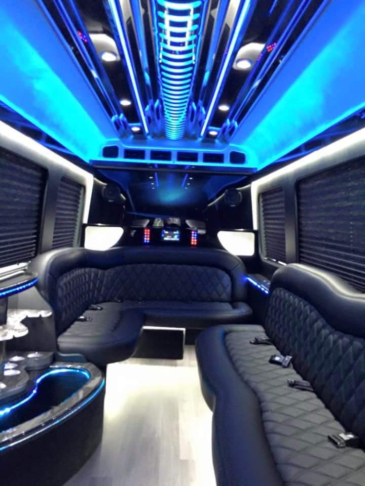 Mercedes Sprinter Limo Rental Nj Party Bus Service