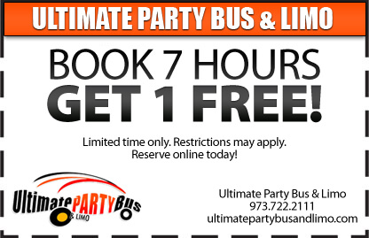 New Jersey limo party bus rental special