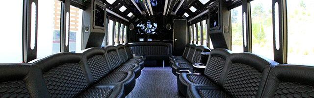 NJ Party Bus Interior